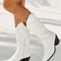Therapy Clayton White Boots